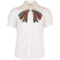 Afbeelding van Gucci 542960 kinder overhemd wit