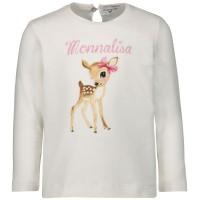 Afbeelding van MonnaLisa 314600S1 baby t-shirt off white