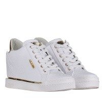 Afbeelding van Guess FL5FWUFAL12 dames sneakers wit