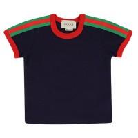 Afbeelding van Gucci 516305 baby t-shirt navy