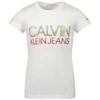 Afbeelding van Calvin Klein IG0IG00892 kinder t-shirt wit