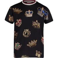 Afbeelding van Dolce & Gabbana L4JT7N FS74O kinder t-shirt zwart