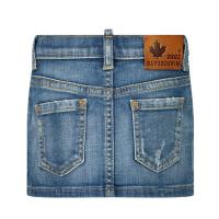 Afbeelding van Dsquared2 DQ03KN baby rokje jeans