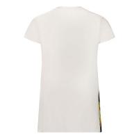 Afbeelding van Versace 1A01356 babyjurkje wit/goud