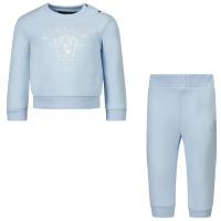 Afbeelding van Versace 1000308 baby joggingpak licht blauw
