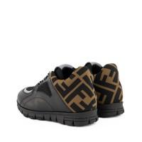 Picture of Fendi JMR334 kids sneakers black