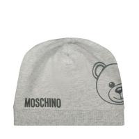 Afbeelding van Moschino MNX035 babymutsje grijs
