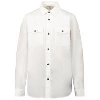 Afbeelding van Stone Island 10501 kinder overhemd wit