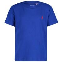 Picture of Ralph Lauren 703638B baby shirt cobalt blue
