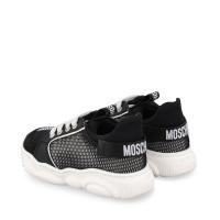 Afbeelding van Moschino 67402 kindersneakers zwart