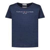 Afbeelding van Tommy Hilfiger KG0KG05242B baby t-shirt navy