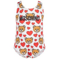 Afbeelding van Moschino MDL00A baby badkleding off white