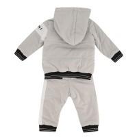Afbeelding van Givenchy H98057 baby joggingpak licht grijs