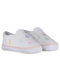 Picture of Ralph Lauren RL100263 baby sneakers white