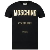 Afbeelding van Moschino H5M025 kinder t-shirt zwart