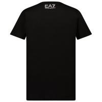 Afbeelding van EA7 3KBT58 kinder t-shirt zwart