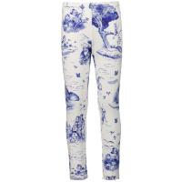 Afbeelding van MonnaLisa 117415 kinder legging wit/blauw