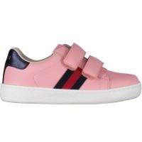 Afbeelding van Gucci NEWACE VL M kindersneaker licht roze