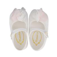 Afbeelding van MonnaLisa 737001 babyschoenen off white