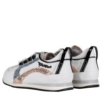 Picture of Dsquared2 59659 kids sneakers white