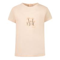 Afbeelding van Chloé C05367 baby t-shirt zalm