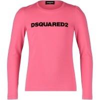 Afbeelding van Dsquared2 DQ02XW kinder t-shirt roze