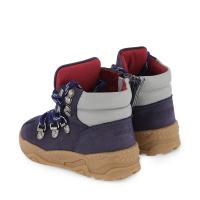 Afbeelding van Armani XMZ002 XOU03 kindersneakers navy