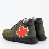 Afbeelding van Dsquared2 62399 kindersneakers army