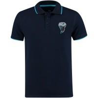 Afbeelding van My Brand MMBPO009G3031 heren polo blauw