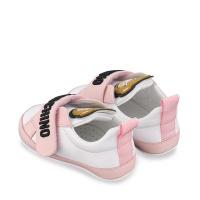 Afbeelding van Moschino 67339 babysneakers licht roze