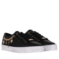 Picture of Guess FL6GRLFAB12 womens sneakers black