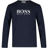 Afbeelding van Boss J25D14 kinder t-shirt navy
