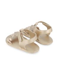 Afbeelding van Mayoral 9406 baby sandalen goud