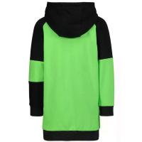 Afbeelding van DKNY D32771 kinderjurk fluor groen/zwart