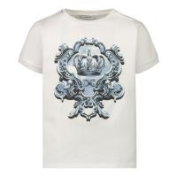 Afbeelding van Dolce & Gabbana L1JT6M G7YBK baby t-shirt wit