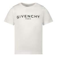 Afbeelding van Givenchy H05J16 baby t-shirt wit