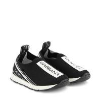 Afbeelding van Dolce & Gabbana D10723 AH677 kindersneakers zwart