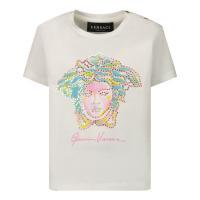 Afbeelding van Versace 1000152 baby t-shirt wit