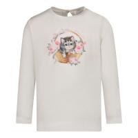 Afbeelding van MonnaLisa 398606SE baby t-shirt off white