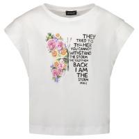 Afbeelding van MonnaLisa 417605PT kinder t-shirt wit