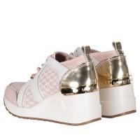 Afbeelding van Michael Kors ZIA NEO CALI kindersneakers licht roze