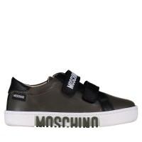 Afbeelding van Moschino 26227 kindersneakers army