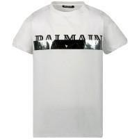 Afbeelding van Balmain 6L8501 kinder t-shirt wit