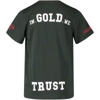 Afbeelding van in Gold We Trust FA046KIDS kinder t-shirt groen