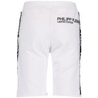 Afbeelding van Philipp Plein BJT0223 kinder shorts wit