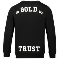 Afbeelding van in Gold We Trust KIDSWK0011000122SS kindertrui zwart