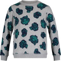 Picture of Kenzo KN15688 kids sweater grey