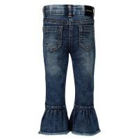 Afbeelding van MonnaLisa 394408 babybroekje jeans