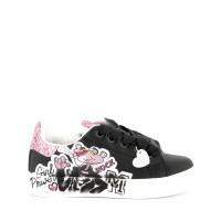 Afbeelding van MonnaLisa 8C4024 kindersneakers zwart