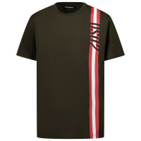 Afbeelding van Dsquared2 DQ0192 kinder t-shirt army